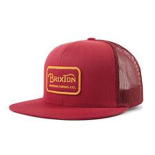 Brixton Grade (Burgundy/Burgundy) Mesh Hat