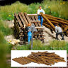 Real Wooden planks and beams - OO/HO accessories - Busch 1129 - free post F1