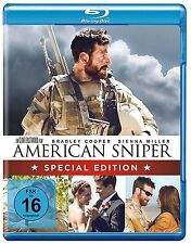 AMERICAN SNIPER (Bradley Cooper, Sienna Miller) Blu-ray Disc NEU+OVP Special Edt