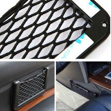 15*8CM Car Elastic Storage Net String Mesh Bag Phone Holder Ticket Pocket