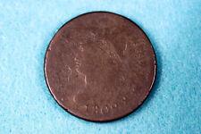 ESTATE FIND 1809  CLASSIC HEAD Large Cent  #D10376