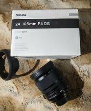Sigma Art 24-105 Nikon Mount