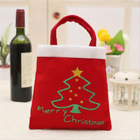 New Santa Handbag Xmas Decor Wedding Home Party Candy/Gift Wine-Bag Christmas
