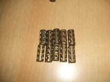 Märklin Metallbaukasten  10 Kupplungsmuffen ohne die Stellschrauben