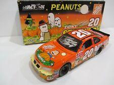 2002 TONY STEWART signed 1:24 NASCAR DIECAST CAR PEANUTS SNOOPY PONTIAC RACING