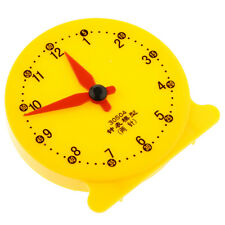 Children Educational Toy Gift Clock Learning Time Math School Teaching Tools