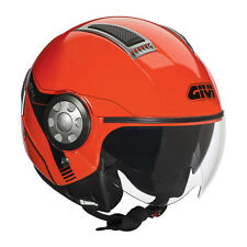 CASCO JET 11.1 AIR ROSSO FLUO GIVI NEW 2015 TG XL