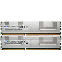 Samsung 16GB 2x8GB 2Rx4 PC3-12800R DDR3 1600Mhz 240Pin ECC REG Server Memory RAM