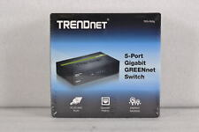 TRENDnet TEG-S50g 5 Port Unmanaged Gigabit Greennet Desktop Metal Switch