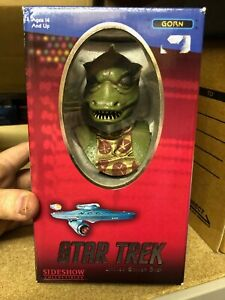 Boxed STAR TREK Classic THE GORN Bust Statue Sideshow Collectables Limited #366