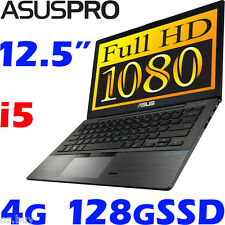 "ASUS-PRO BU201LA Core i5 Durable Carbon 12.5"" Full HD 128G SSD Win7Pro Ultrabook"