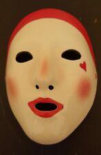 Vandor Imports Ceramic Mask 1977 Vintage Handpainted Clown Heart