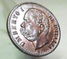 SAVOIA-Umberto I (1 Centesimo 1895 ) FDC.