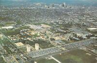 TX University of Houston c1970 Aerial View - Stadium View -  6x9 postcard