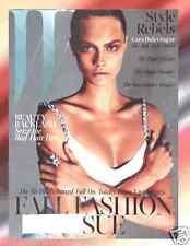 W Magazine September 2013 Fall Fashion Cara Delevingne, PunkTycoon Lee Miller