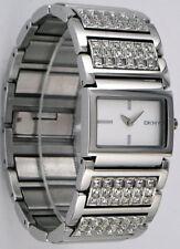 DKNY watch NY4545 Silver Bracelet Glitz with Crystals Women's