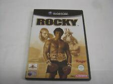 Nintendo Gamecube ROCKY Rage Video Game