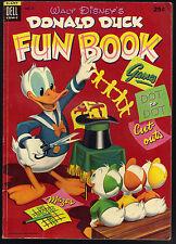 Donald Duck Fun Book #2 Dell Giant Walt Disney 1954 VG Nice!