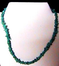 Navajo 17½ inch Sleeping Beauty Turquoise nugget Necklace by Rose Yellowhair NEW