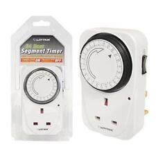 Lloytron A1206 Mechanical Segment Security Plug Timer15 Min Interval 24 Hour New
