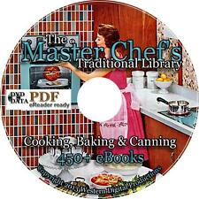 450+ MEGA LOT Books Cooking Baking Canning Fish Meat Preserving Recipes Cookbook