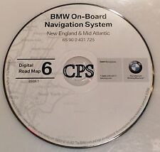 2001 2002 BMW 740iL 745i 745Li 740i NAVI  MAP CD 6 New England & Mid Atllantic