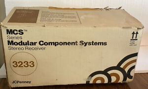 VINTAGE Modular Component Systems 3233 Stereo Receiver MCS SERIES
