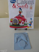EAGLEMOSS DISNEY CAKES & SWEETS PETER PAN CROC CLOCK SILICONE  MOULD  No 58  NEW