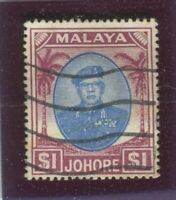 Malaya - Jahore Stamps Scott #148 Used,VF (X8730N)