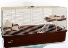 RIVIERA VARAZZE EXTRA LARGE DWARF OR SYRIAN HAMSTER MOUSE CAGE 70 X 40 X 40 CM