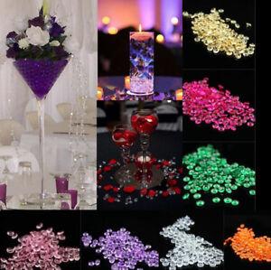 10000pcs 2.5mm 1/5ct Diamond Table Confetti Wedding Party Crystals Decor Acrylic