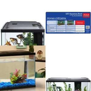 Aqua Culture 10 Gal Fish Tank Hood With Led Light