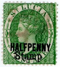 (I.B) St Lucia Revenue : Stamp Duty ½d
