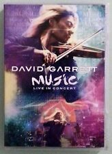 david garrett MUSIC LIVE IN CONCERT   DVD includes insert
