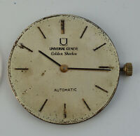 Vintage UNIVERSAL GENEVE Golden Shadow wristwatch MOVEMENT &  DIAL Runs Cal 1-66
