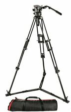 Manfrotto 526 Fluid Video Head with 545GB Tripod & Carrying Bag