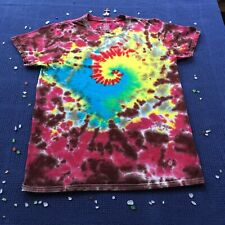 Tie Dye Spiral T-Shirt  Size Small 100% Cotton ~ Handmade in Milwaukee WI USA