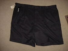 "Haggar Performance Shorts, No Iron, Flex Waist, 9.5"" Inseam, Size 54, NAVY"