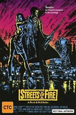 Streets Of Fire NEW R4 DVD