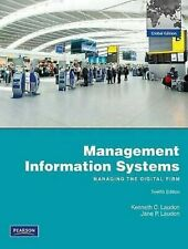 Management Information Systems Paperback Kenneth C. Laudon