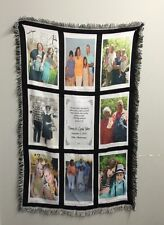 Photo Afghan New Picture Blanket Photo Throw
