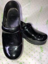 Dansko Women's Professional Patent Leather Clog,Black,39 EU (US Women's 8.5-9 M)
