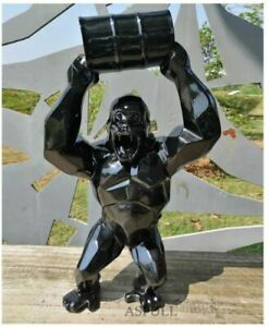 Large WILD KONG Gorilla Statue Orlinski Koons
