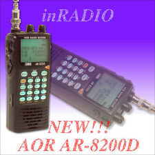 AOR AR-8200D UNLOCKED Wideband Receiver 0.5-3000MHz APCO25 P25 UNBLOCKED Scanner