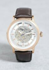 Kenneth Cole Men's $185 Retail Automatic Rose Gold Tone on Strap Watch 10026783