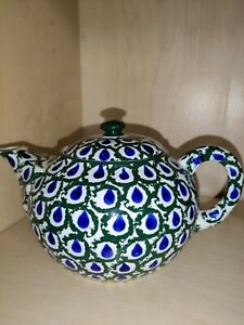 Peacock Pattern Teapot Made In Germany