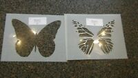 Monarch Butterfly Stencils 2 Layer combo stencil 10 Mil washable mylar 5 1/2 x 7