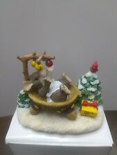 "Charming Tails - 1997 "" Baby's First Christmas"" Figurine by Fitz and Floyd"