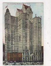City Investing Building New York USA Vintage Postcard 934a