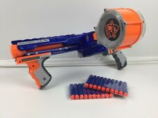 Nerf N-strike Elite Raider CS-35 + 25 Revista-shot barril + 20x nuevo munición (6)